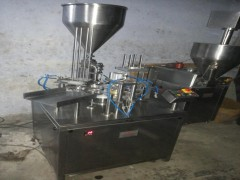 Cup Filling and Sealing Machine - Double Head