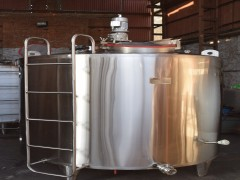 Vertical Milk Storage Tank 5 KL